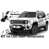 KIT LED H4 LUXEON JEEP RENEGADE